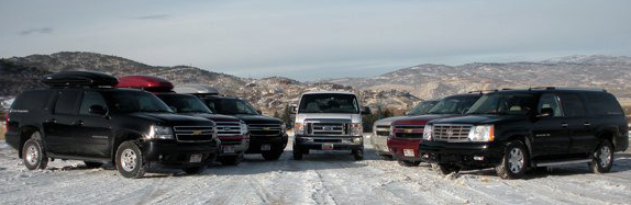 Transportation To Park City With Shuttle Bus &amp; Luxury SUV's | Peak Fleet